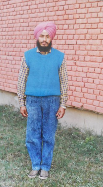 Photo of Balbir Singh, victim of extrajudicial execution between February 1, 1993 and February 15,  1993, in Garhshankar, by Punjab Police