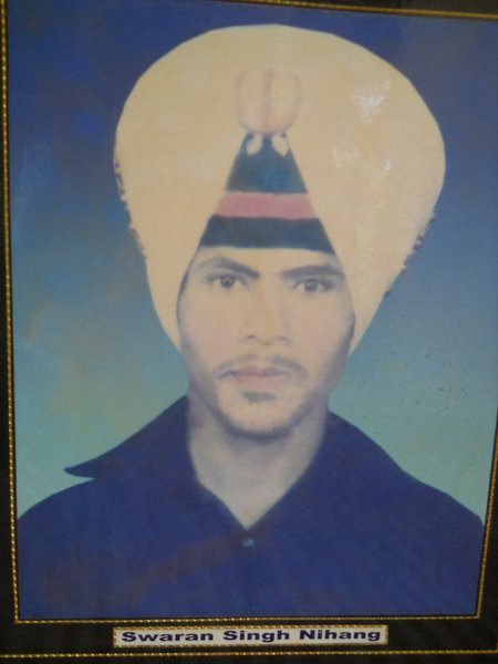 Photo of Swaran Singh, victim of extrajudicial execution on May 19, 1987, in Urmar Tanda, by Punjab Police