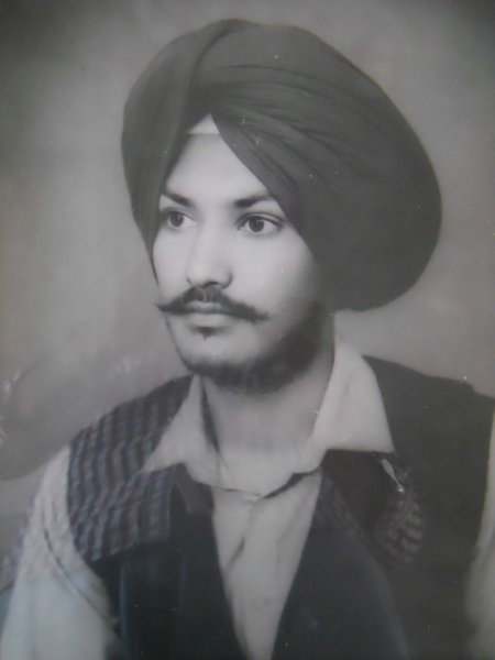 Photo of Baljinder Singh, victim of extrajudicial execution on November 10, 1987, in Jalandhar CIA Staff,  by Punjab Police; Central Reserve Police Force, in Jalandhar CIA Staff, by Criminal Investigation Agency