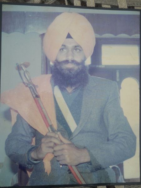 Photo of Jaswant Singh, victim of extrajudicial execution on June 06, 1991, in Hoshiarpur CIA Staff,  by Criminal Investigation Agency, in Hoshiarpur CIA Staff, by Criminal Investigation Agency