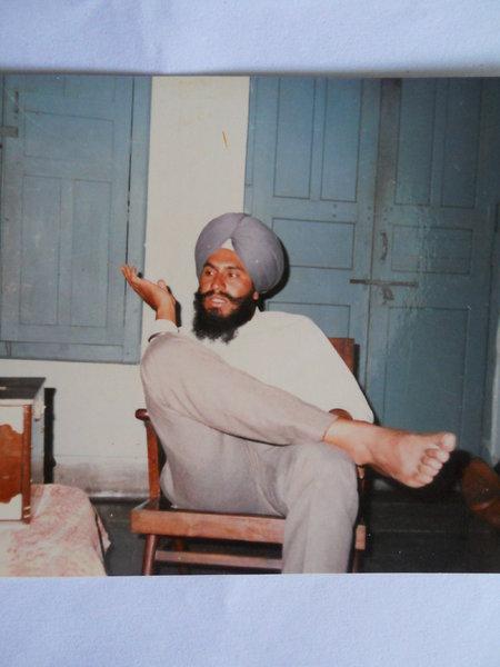 Photo of Balvir Singh, victim of extrajudicial execution on July 1, 1986, in Jalandhar,  by Punjab Police; Border Security Force; Central Reserve Police Force; Criminal Investigation Agency, in Jalandhar, by Punjab Police