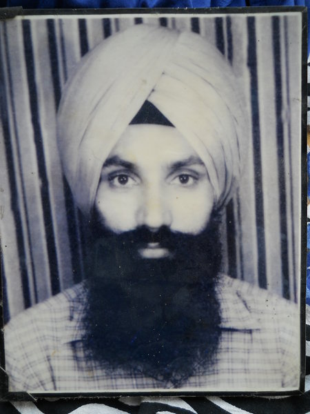Photo of Manmohan Singh,  disappeared on October 3, 1987, in Jalandhar,  by Punjab Police
