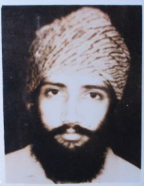 Photo of Jarnail Singh, victim of extrajudicial execution on December 08, 1991, in Adampur, by Punjab Police