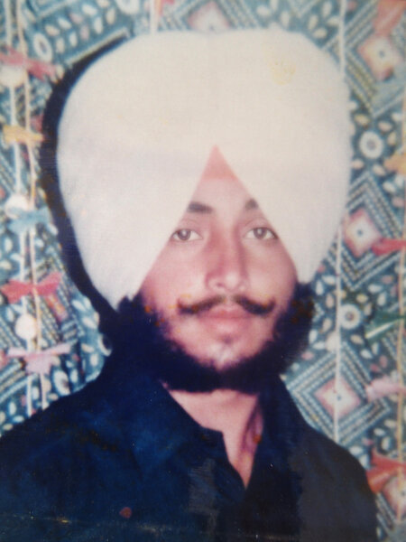 Photo of Baljit Singh, victim of extrajudicial execution on November 05, 1991 by Central Reserve Police ForceCentral Reserve Police Force