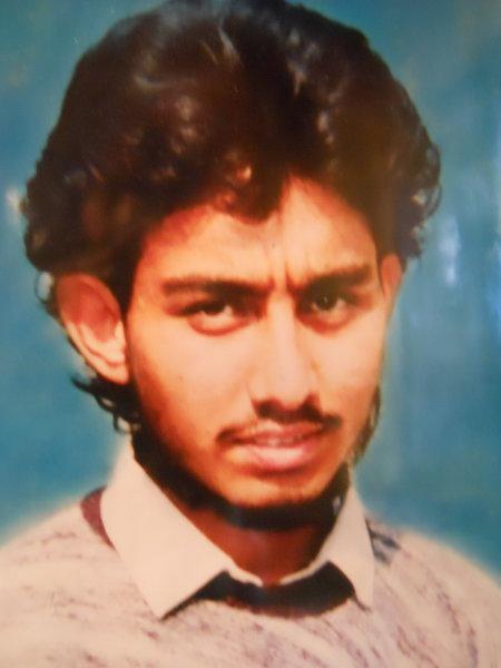 Photo of Naresh Kumar, victim of extrajudicial execution on October 10, 1989, in Phagwara, by Punjab Police