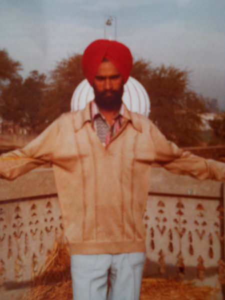 Photo of Santokh Singh,  disappeared on July 25, 1989 by Black cat