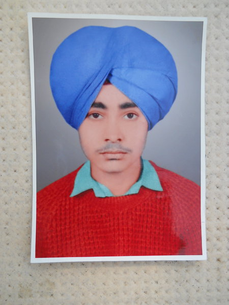Photo of Harjap Singh, victim of extrajudicial execution on February 29, 1988, in Verowal,  by Punjab Police; Central Reserve Police Force, in Verowal, by Punjab Police
