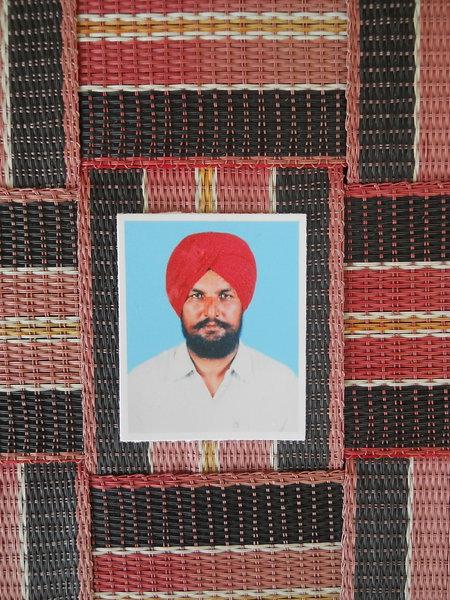 Photo of Tarlochan Singh, victim of extrajudicial execution on October 26, 1992, in Jalandhar CIA Staff, Jalandhar,  by Punjab Police; Criminal Investigation Agency, in Jalandhar CIA Staff, Jalandhar, by Punjab Police; Criminal Investigation Agency