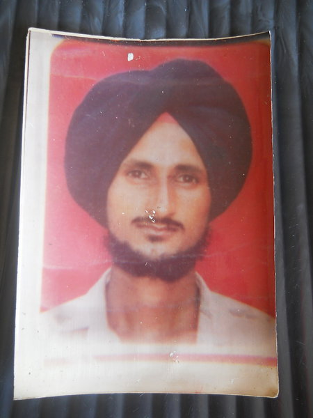 Photo of Ranbir Singh,  disappeared on December 14, 1991, in Nawanshahr,  by Punjab Police