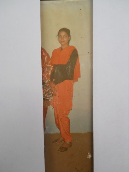 Photo of Narinder Kaur, victim of extrajudicial execution on August 25, 1990, in Shahkot, by Punjab Police