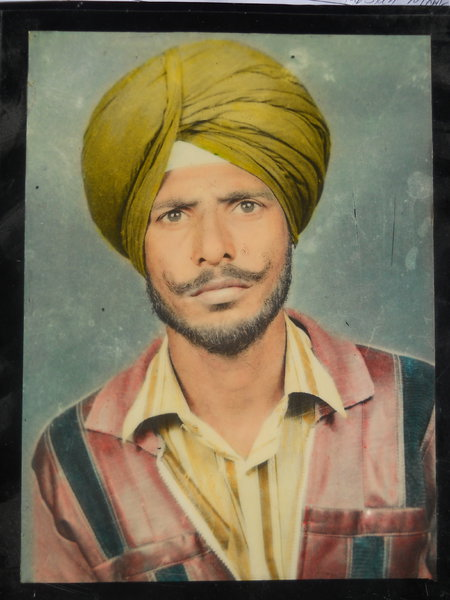 Photo of Balbir Singh, victim of extrajudicial execution on October 23, 1988, in Nurmahal, by Punjab Police