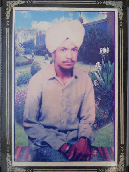 Photo of Jaswinder Singh,  disappeared between November 1, 1987 and January 31,  1988 by Punjab Police
