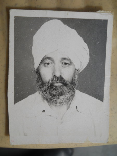 Photo of Darshan Singh, victim of extrajudicial execution on January 10, 1988, in Kartarpur, by Punjab Police