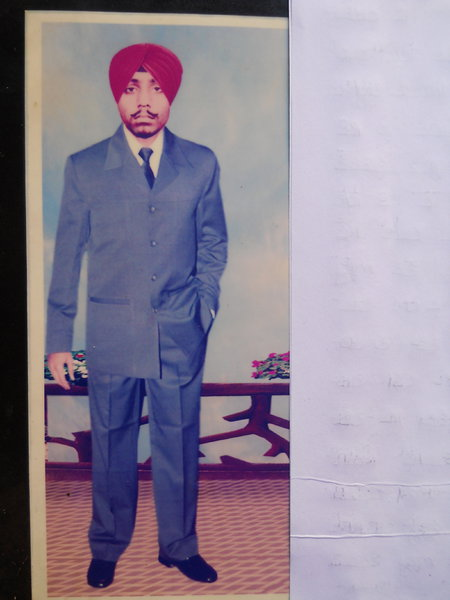 Photo of Baldev Singh, victim of extrajudicial execution on November 2, 1987, in Nakodar, by Punjab Police