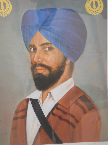 Photo of Avtar Singh, victim of extrajudicial execution on May 05, 1989, in Phillaur, Banga, Nurmahal, by Punjab Police