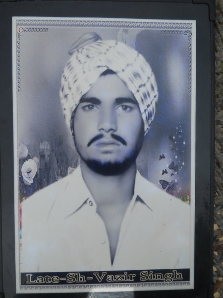 Photo of Vajir Singh,  disappeared between February 1, 1992 and March 31,  1993, in Dharamkot,  by Punjab Police