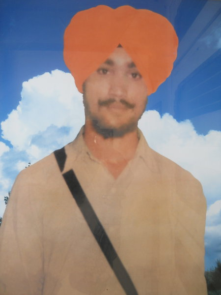 Photo of Charanjit Singh, victim of extrajudicial execution on May 9, 1985, in Hisar