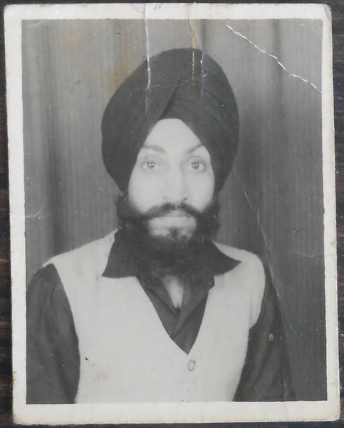 Photo of Manmohan Singh,  disappeared on August 5, 1987, in Jalandhar,  by Punjab Police