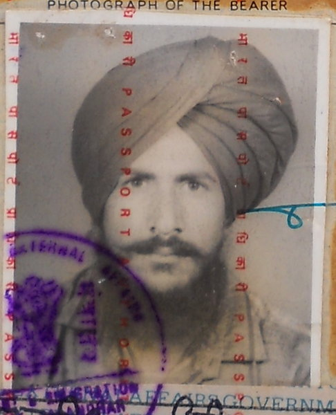 Photo of Jaswinder Singh,  disappeared between March 1, 1991 and April 30,  1992, in Phagwara,  by Black cat