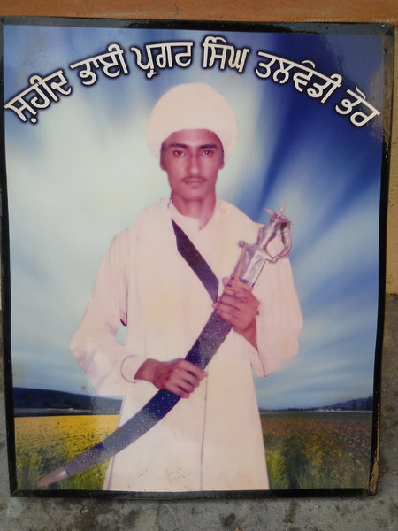 Photo of Pargat Singh, victim of extrajudicial execution on March 6, 1988Punjab Police