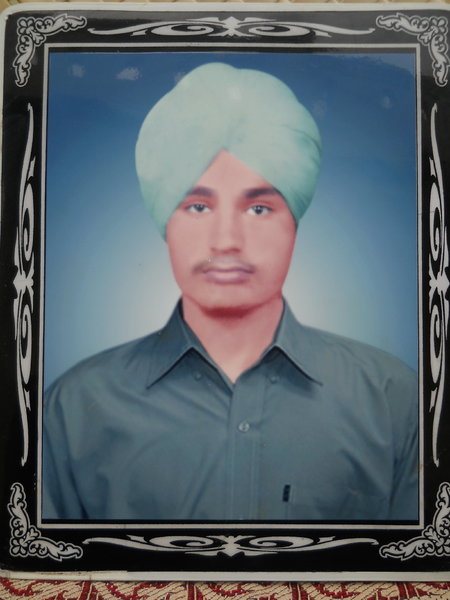 Photo of Bhupinder Singh, victim of extrajudicial execution between January 28, 1989 and February 1,  1989, in Nurmahal, by Punjab Police