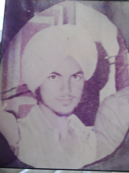 Photo of Baldev Singh, victim of extrajudicial execution on June 22, 1986, in Shahkot CRPF Camp,  by Central Reserve Police Force, in Shahkot CRPF Camp, by Central Reserve Police Force
