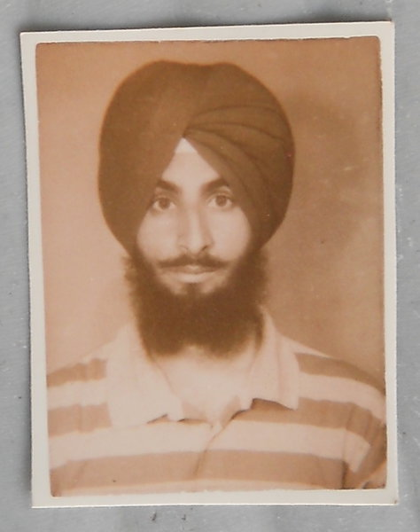 Photo of Sukwinder Singh, victim of extrajudicial execution on May 04, 1990, in Kapurthala, by Punjab Police