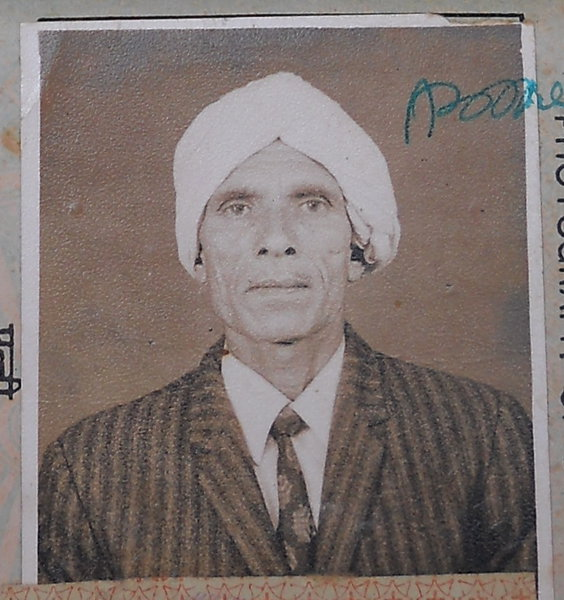Photo of Karm Chand, victim of extrajudicial execution between January 1, 1988 and January 1,  1993, in Phagwara, by Punjab Police