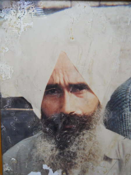 Photo of Gurdeep Singh,  disappeared on July 11, 1988, in Kapurthala,  by Punjab Police