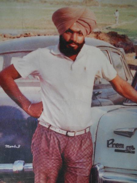 Photo of Gurmej Singh, victim of extrajudicial execution on January 01, 1991, in Kapurthala, by Punjab Police