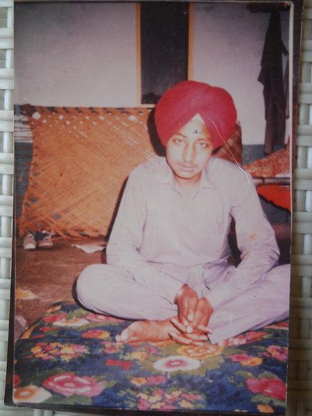 Photo of Balvir Singh, victim of extrajudicial execution on July 13, 1988, in Kapurthala, by Punjab Police