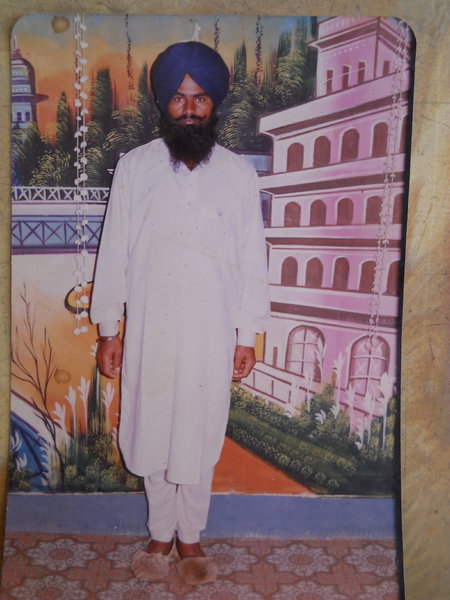 Photo of Kashmir Singh, victim of extrajudicial execution between June 1, 1988 and July 31,  1988, in Dhilwan, by Punjab Police