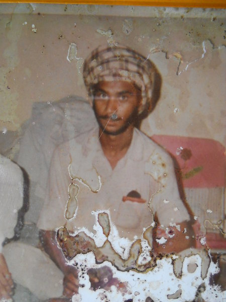 Photo of Sukhwinder Singh,  disappeared on June 26, 1990, in Kapurthala,  by Punjab Police