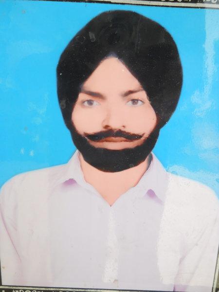 Photo of Jagir Singh, victim of extrajudicial execution between November 1, 1993 and December 31,  1993, in Kapurthala, by Punjab Police