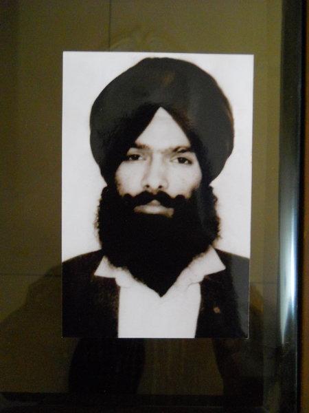 Photo of Surinder Singh, victim of extrajudicial execution on June 17, 1989, in Kapurthala, Phagwara, by Punjab Police