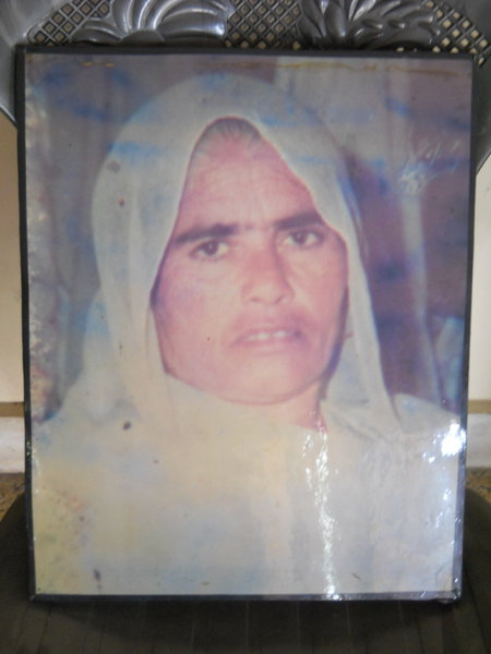 Photo of Surjit Kaur, victim of extrajudicial execution between May 10, 1989 and May 15,  1989, in Hoshiarpur, by Central Reserve Police Force