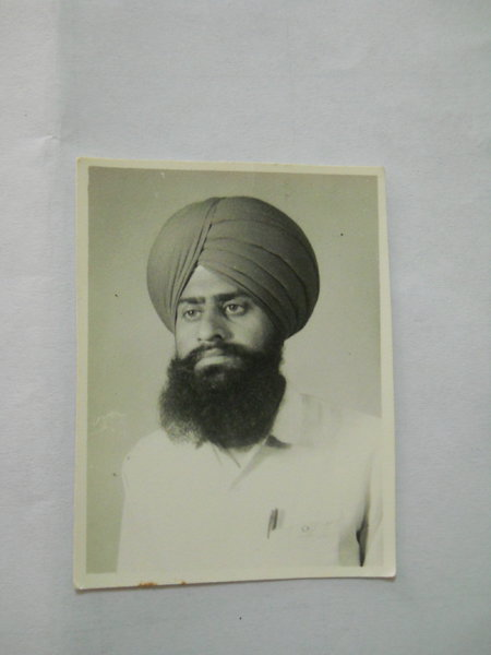 Photo of Kulvaran Singh,  disappeared on October 10, 1991 by Black cat