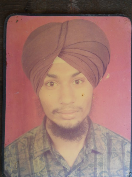 Photo of Jaspal Singh, victim of extrajudicial execution between October 16, 1992 and March 15,  1993, in Kapurthala, by Punjab Police