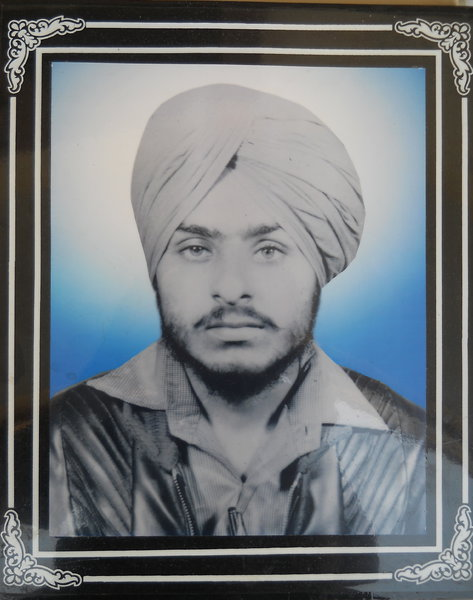 Photo of Jaswant Singh, victim of extrajudicial execution between July 1, 1992 and June 30,  1993, in Kapurthala CIA Staff,  by Criminal Investigation Agency, in Kapurthala CIA Staff, Firozpur CIA Staff, by Criminal Investigation Agency