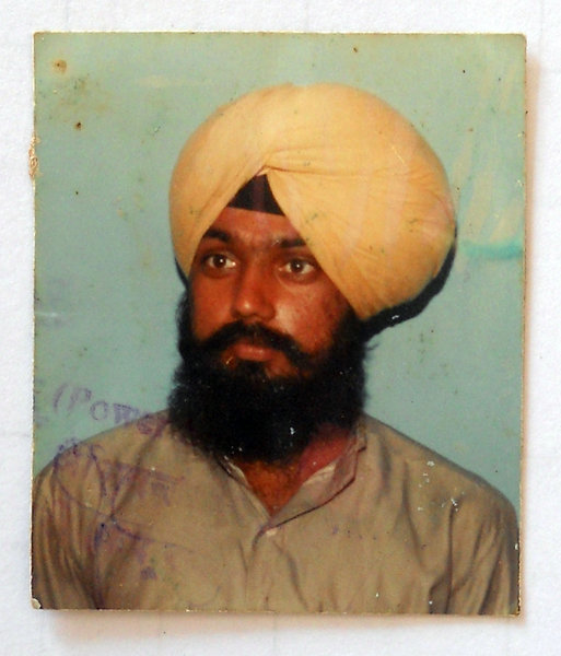 Photo of Kulwant Singh, victim of extrajudicial execution between April 1, 1993 and May 31,  1993Unknown type of security forces