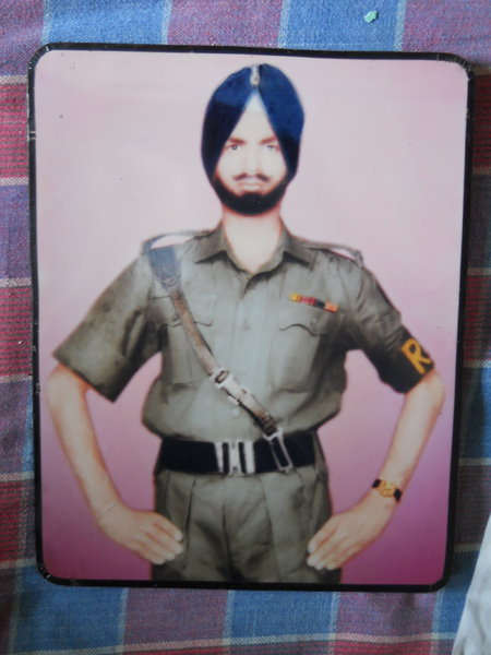 Photo of Tarsem Singh, victim of extrajudicial execution on February 1, 1989, in Jalandhar, by Punjab Police