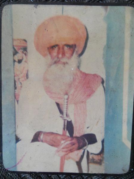 Photo of Swaran Singh, victim of extrajudicial execution between May 30, 1990 and June 4,  1990Punjab Police