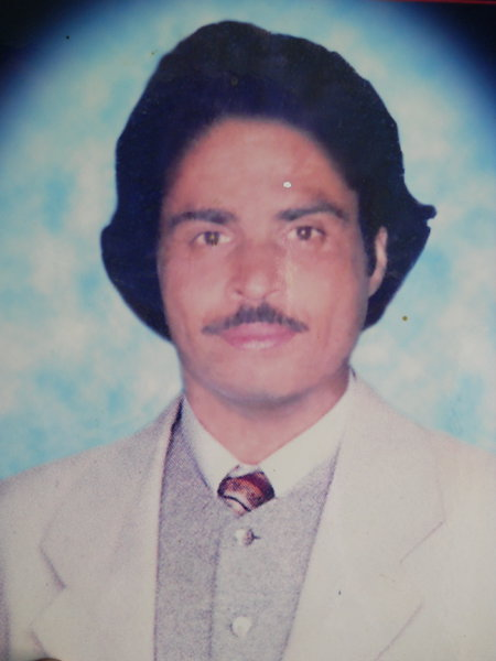 Photo of Jasveer Singh, victim of extrajudicial execution on August 16, 1990, in Kapurthala, by Punjab Police