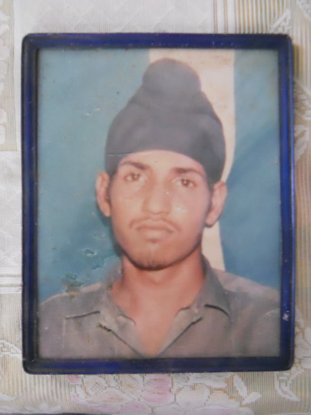Photo of Jagjit Singh, victim of extrajudicial execution on June 23, 1993, in Dhilwan, by Punjab Police
