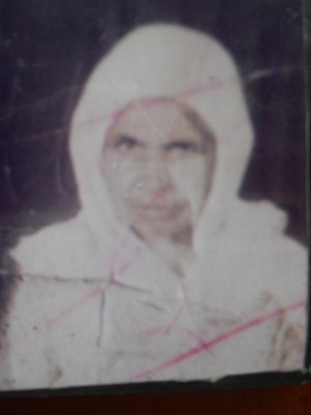 Photo of Gurmej Kaur, victim of extrajudicial execution on July 09, 1990, in Kapurthala, by Punjab Police; Central Reserve Police Force