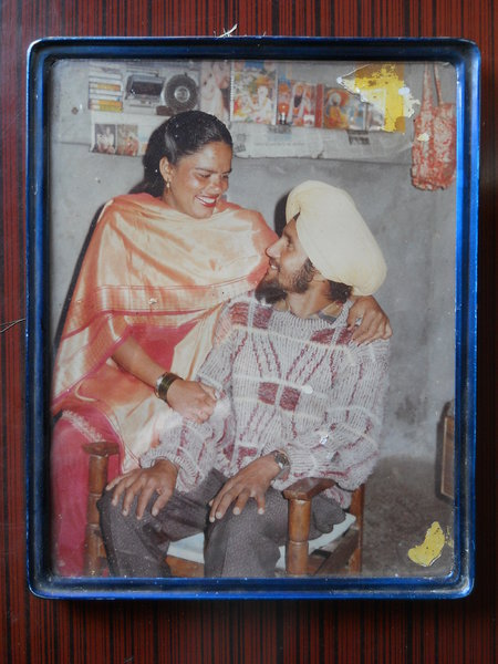 Photo of Sukhwinder Singh, victim of extrajudicial execution on March 14, 1990, in Kapurthala CIA Staff, by Criminal Investigation Agency