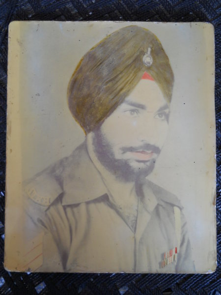 Photo of Sukhwant Singh, victim of extrajudicial execution between June 20, 1990 and June 30,  1990, in Bathinda, by Punjab Police