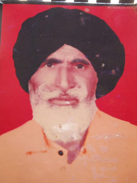Photo of Lachman Singh, victim of extrajudicial execution between August 26, 1991 and August 27,  1991, in Lohian Khas, by Punjab Police