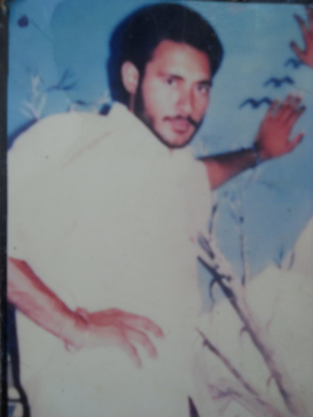 Photo of Balwinder Singh, victim of extrajudicial execution on August 08, 1993, in Faridkot, by Punjab Police