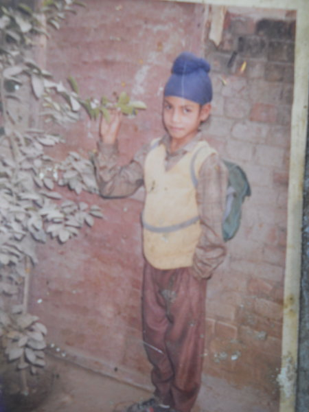 Photo of Kulwinder Singh, victim of extrajudicial execution between July 29, 1993 and August 19,  1993, in Bhikhiwind, Tarn Taran, Khemkaran, by Punjab Police